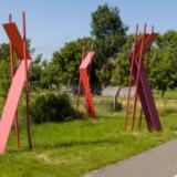 Abstract werk (3 delen)