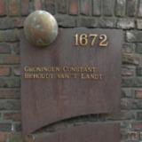 Gedenkplaat Groningens Ontzet