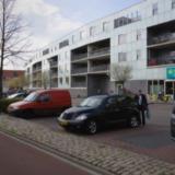 Appartementen- en winkelcomplex