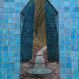 De blauwe tempel