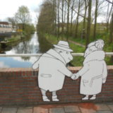 Kleurwijk Beijum 2   Brugpassanten (2 delen)