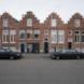 Trapgevelwoningen Kerklaan - Streun, Tj. van en T. Koning van ' De Groningsche Bouw Maatschappij'