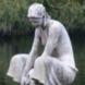 Hurkende vrouw met kruik - Gerrit  Bolhuis