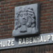 Gevelsteen met portret Carl von Rabenhaupt - Bas  Galis