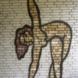 Wandsculptuur van turnster - Wladimir de Vries