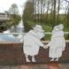 Kleurwijk Beijum 2   Brugpassanten (2 delen) -   Steenaart, Sascha